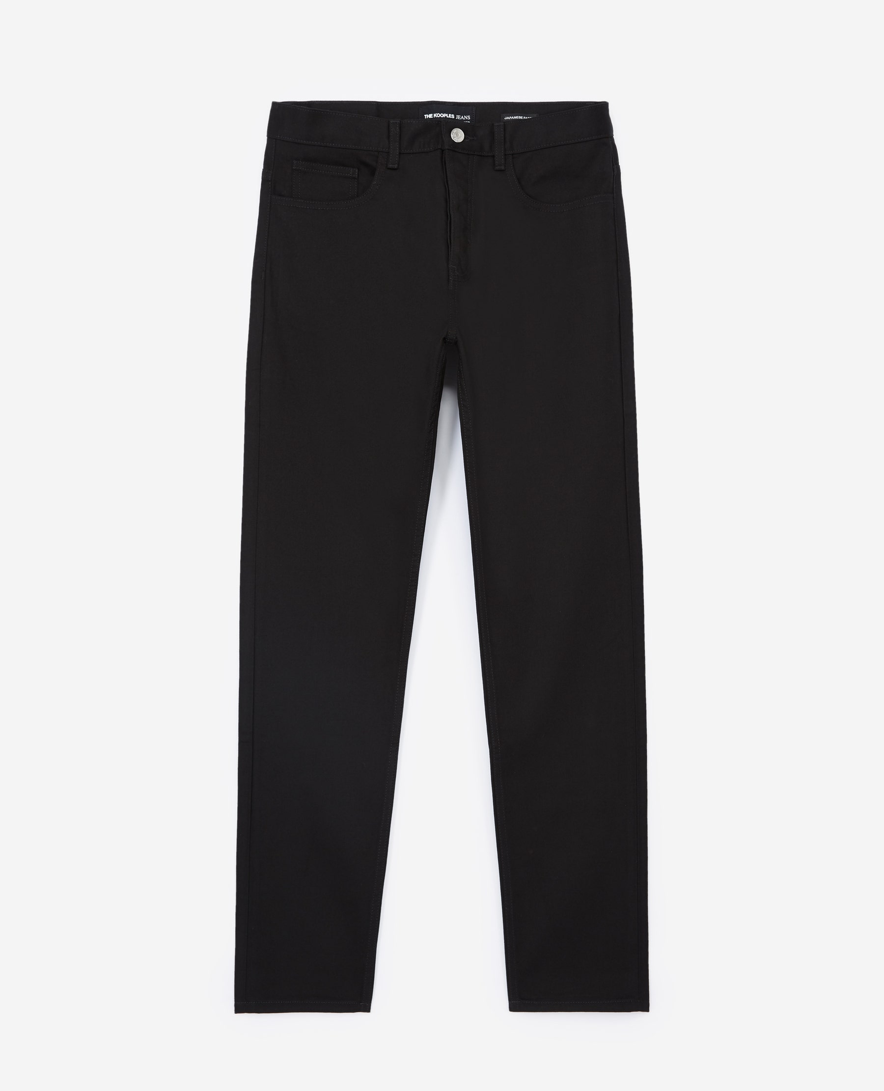 Jean noir brut coupe slim taper - The Kooples - Modalova