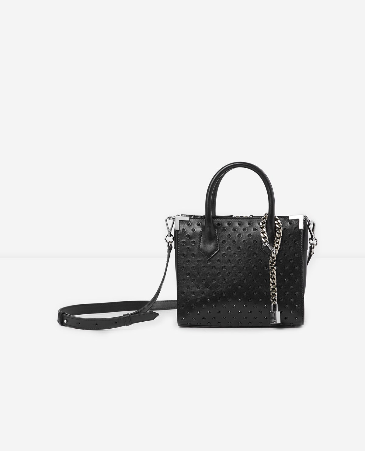 The Kooples - Bolso vintage flexible Ming mediano - MUJER
