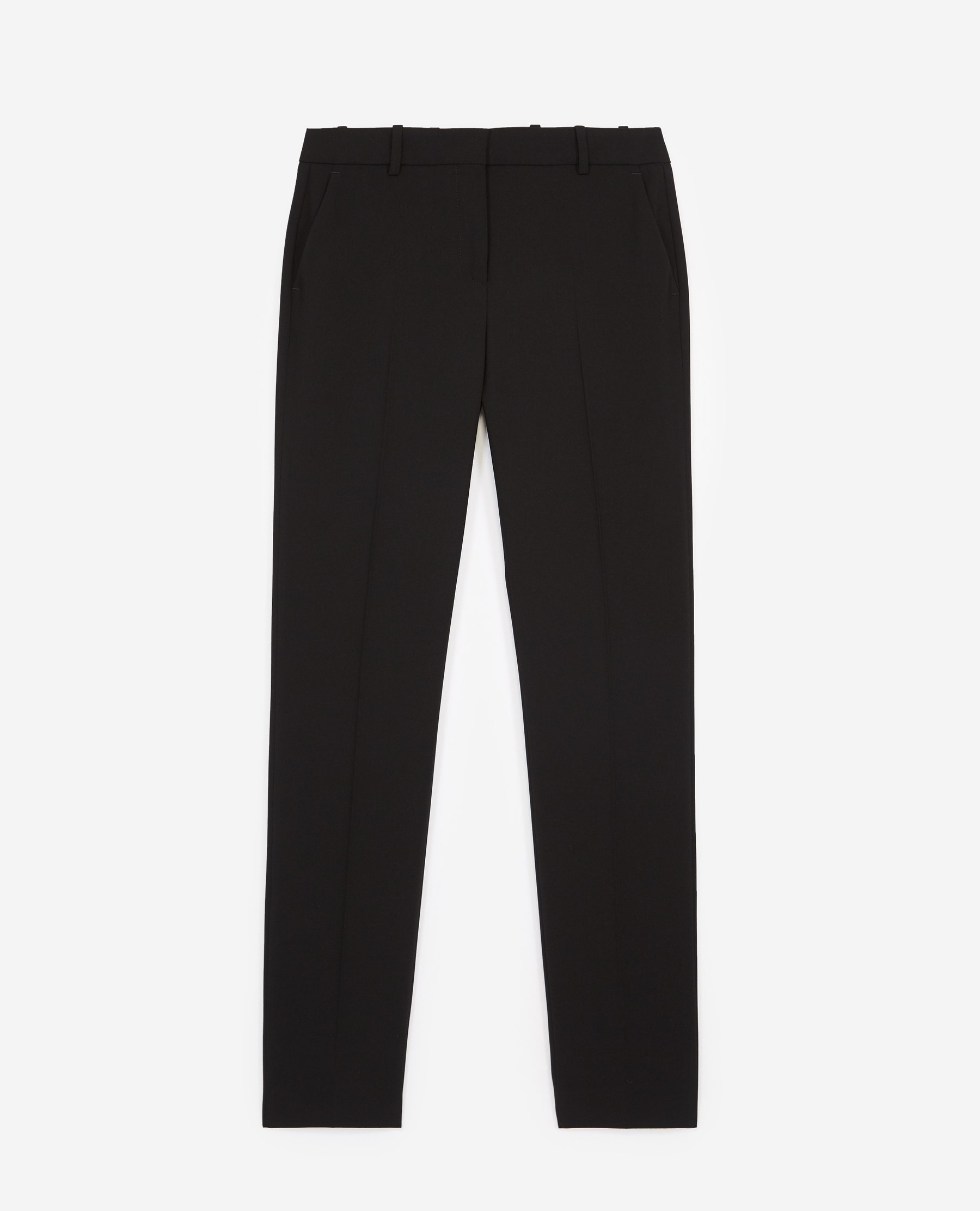 Pantalon costume noir crêpe - The Kooples - Modalova