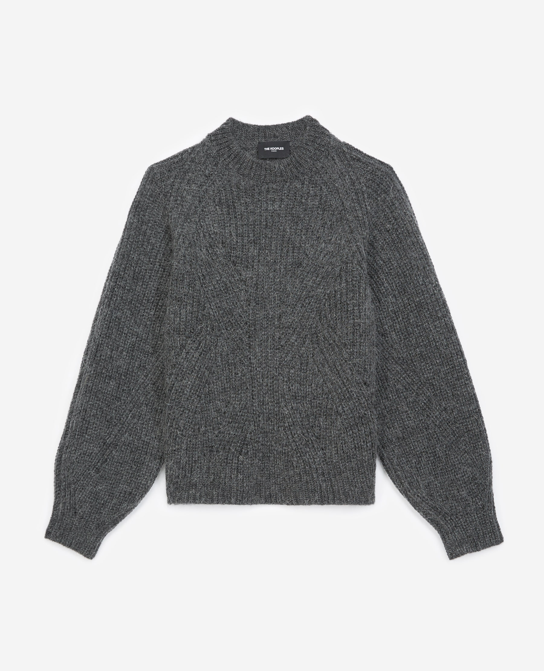 Pull maille à manches bouffantes - The Kooples - Modalova