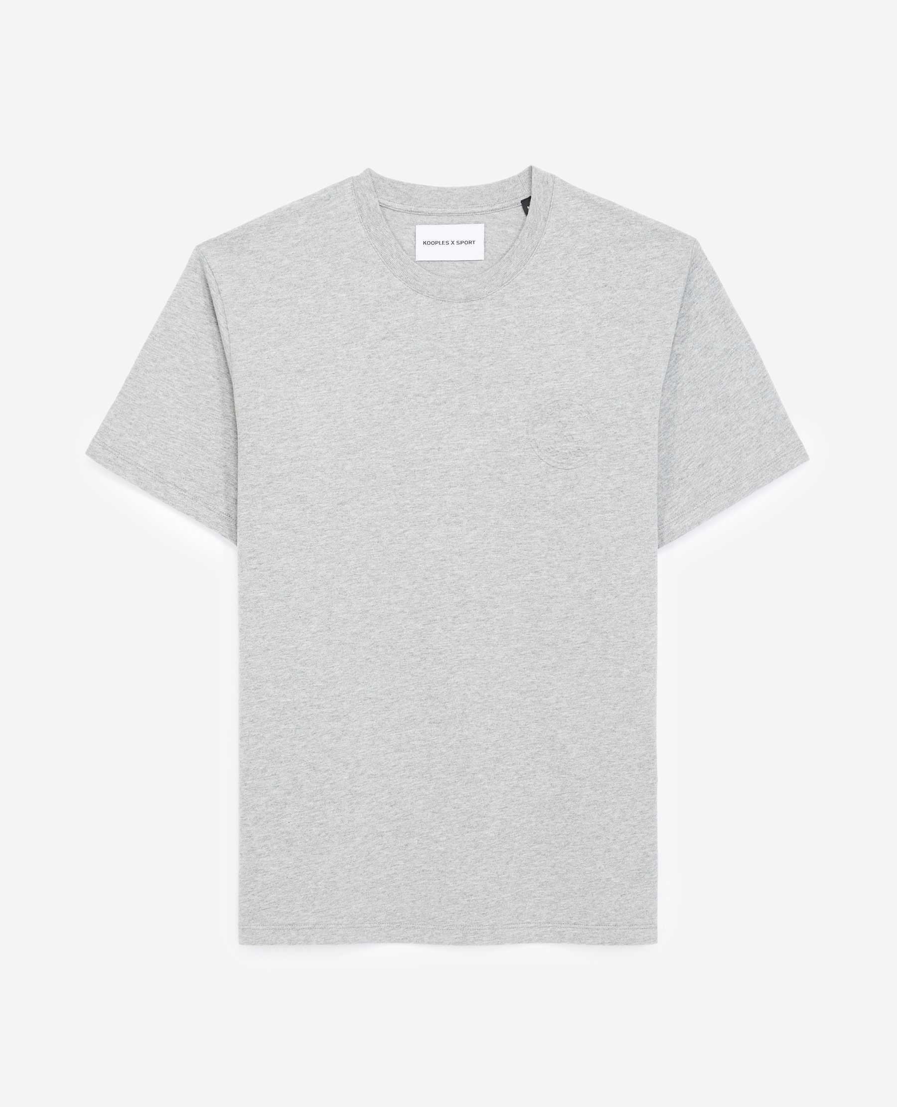 T-shirt coton logo embossé - The Kooples - Modalova