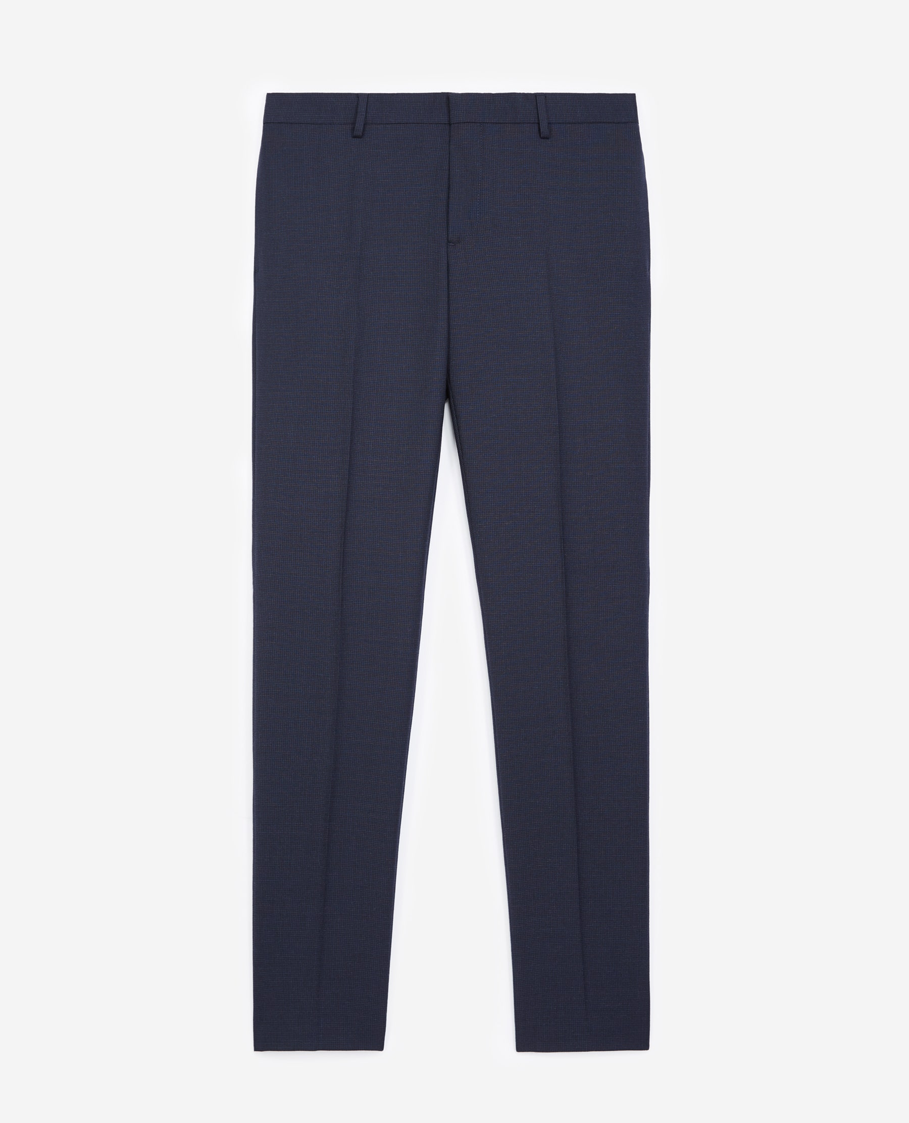 Pantalon costume laine bleu marine - The Kooples - Modalova