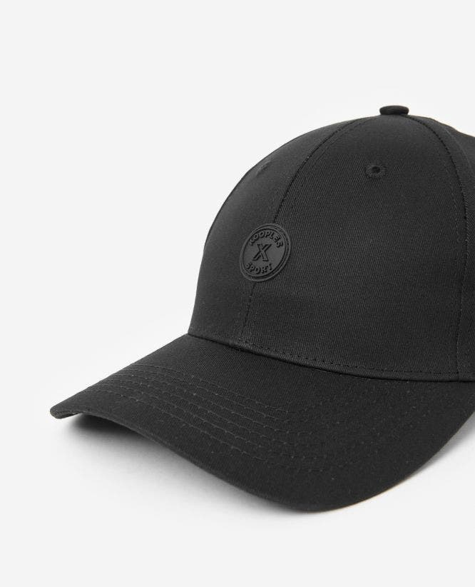 Black cotton cap The Kooples x Sport logo