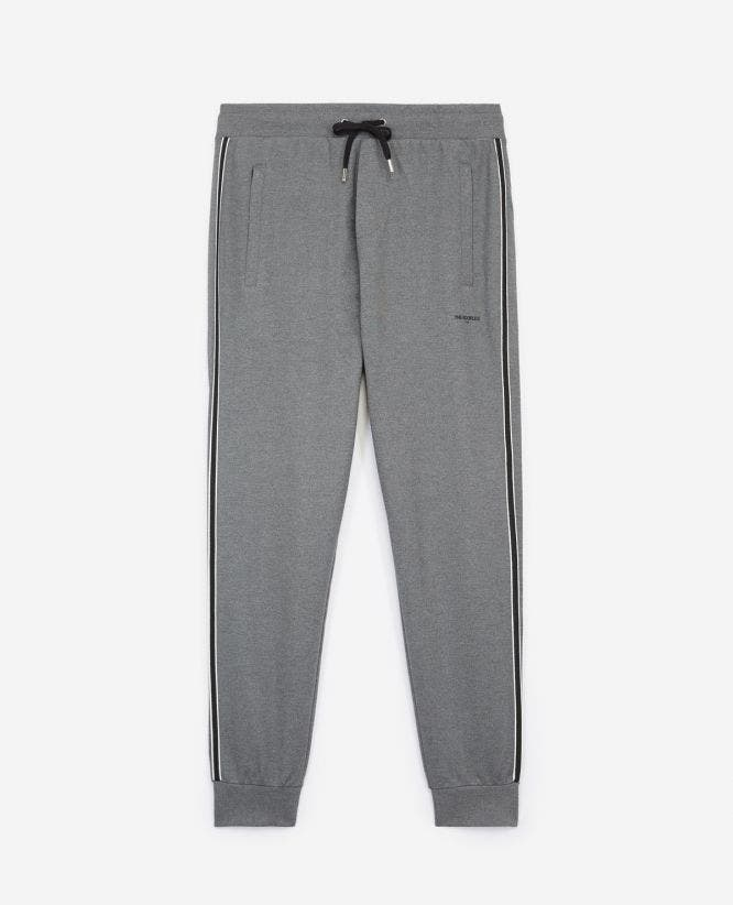 Slim fit grey joggers