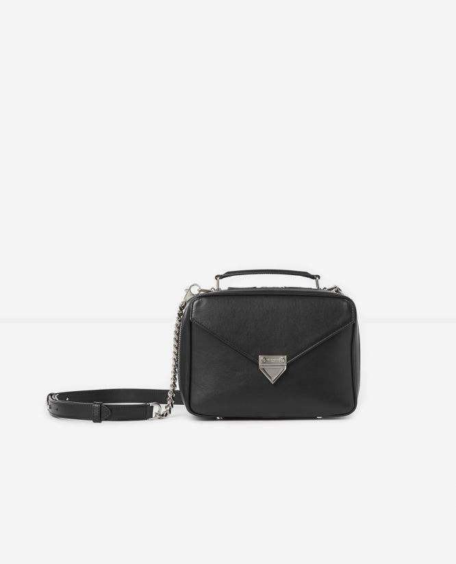Medium black Barbara bag in smooth leather