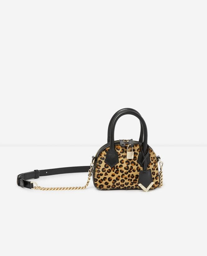 Nano-Handtasche Irina by The Kooples in Leoparden-Optik