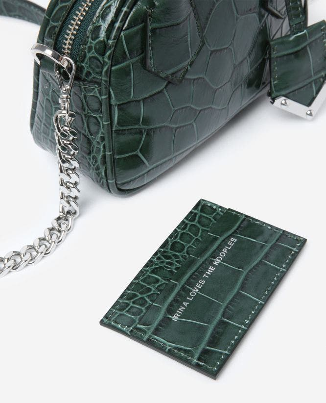 Irina nano bag with metalware by The Kooples