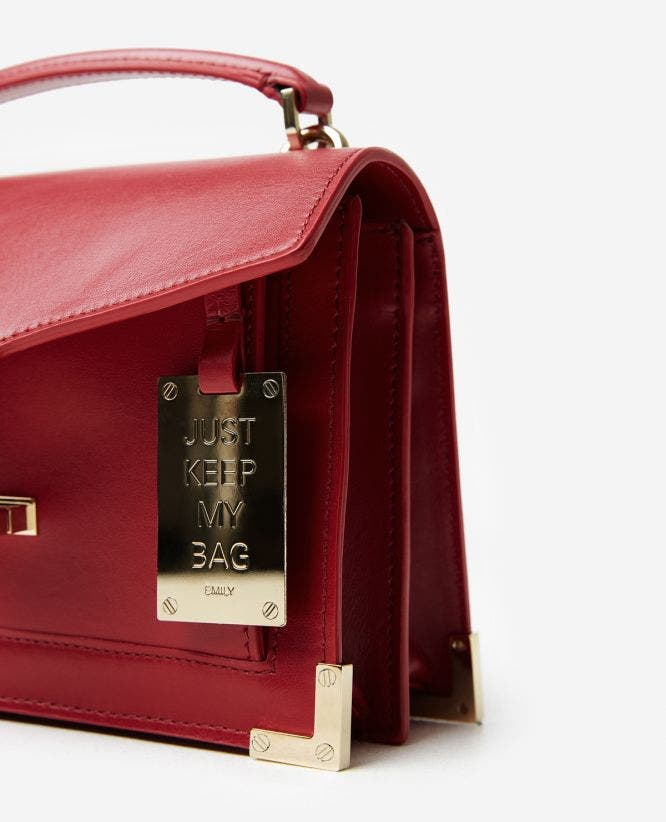 Iconic Emily bag carmine red