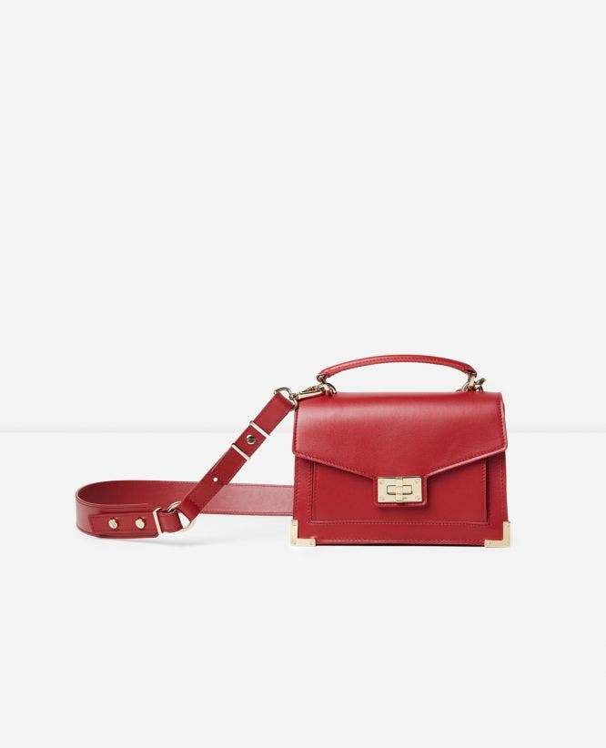 Iconic Emily bag mini version carmine red