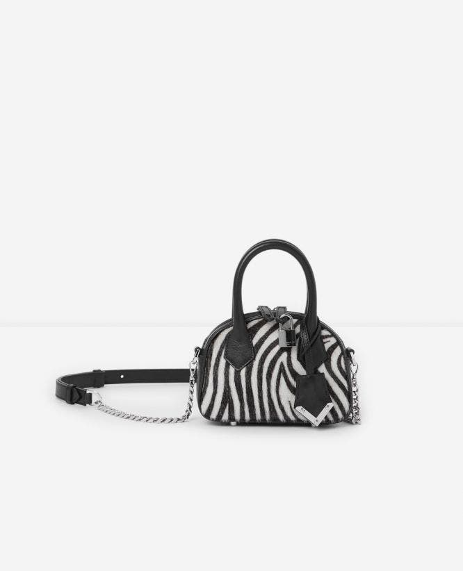 Nano-Tasche Irina by The Kooples in Zebra-Optik
