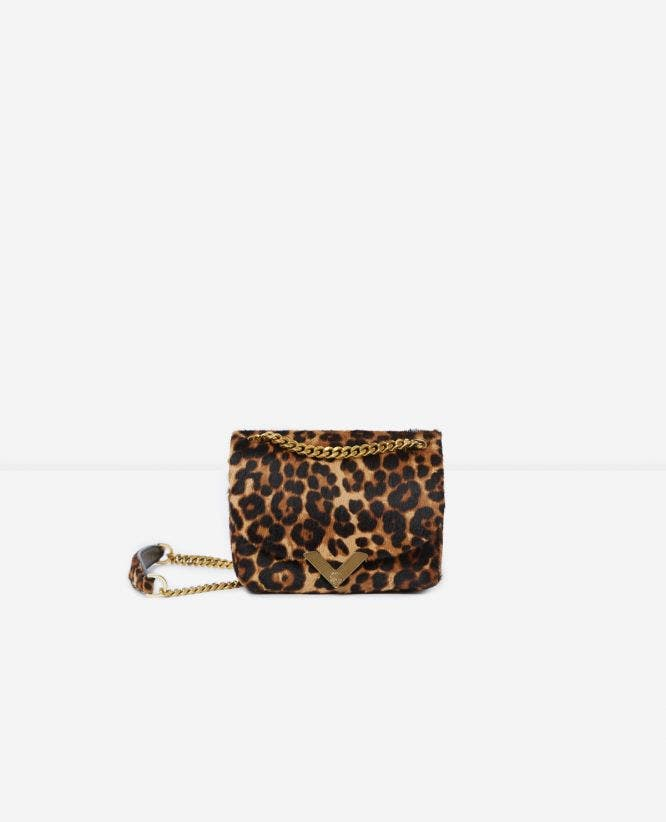 Stella mini pony bag with metalware by The Kooples