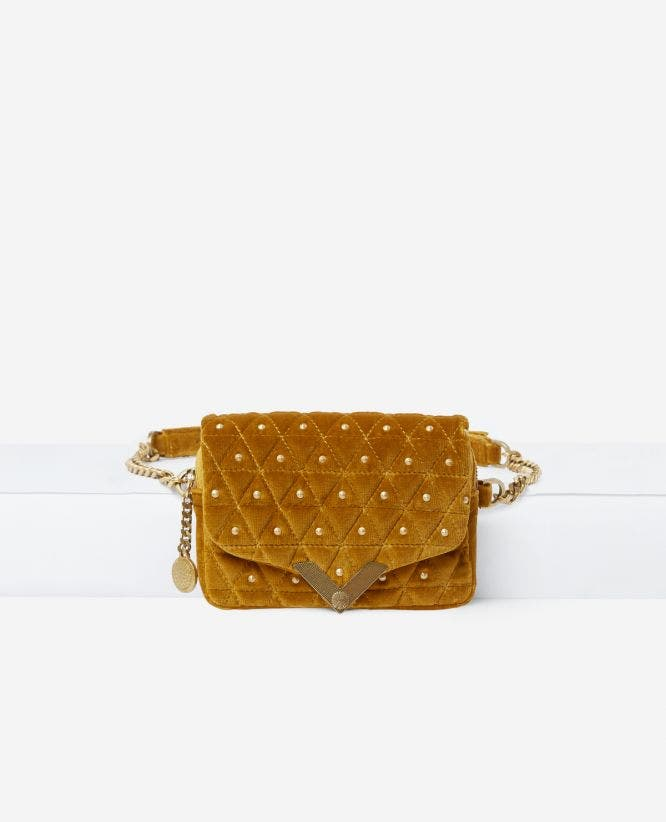 Stella waist bag with metalware by The Kooples