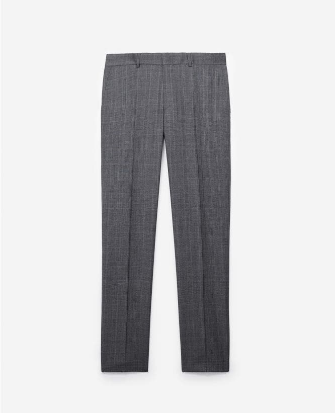 더 쿠플스 The Kooples Pantalon de costume Prince de Galles gris